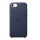 iPhone SE Leather Case Midnight Blue